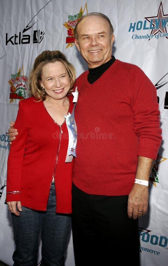 Kurtwood Smith und Debra Jo Rupp lizenzfreie stockfotografie