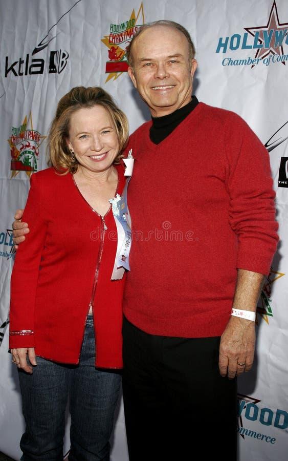 Kurtwood Smith und Debra Jo Rupp lizenzfreies stockfoto