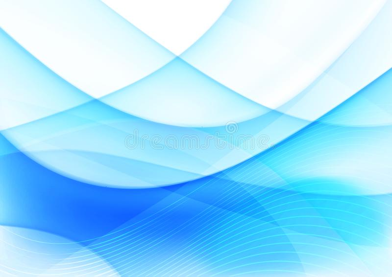Kurve und Mischungshintergrund 012 stock abbildung