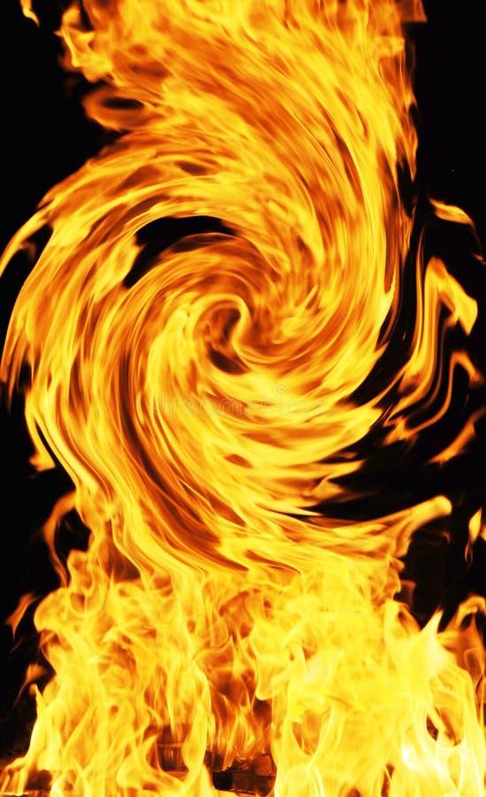 Kurven des Feuers lizenzfreie stockfotografie