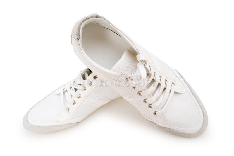 Kurze Schuhe getrennt stockfotos