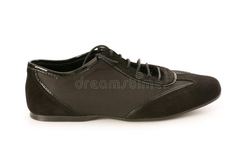 Kurzer Schuh getrennt lizenzfreie stockbilder