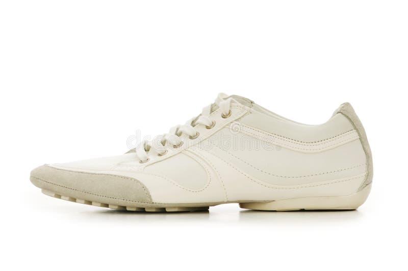 Kurzer Schuh getrennt lizenzfreies stockbild