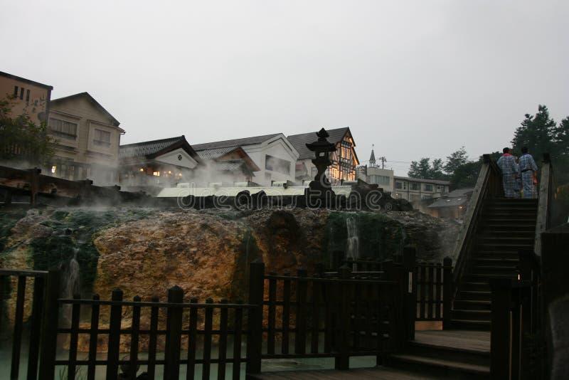 Kusatsu, Japonia - obrazy royalty free
