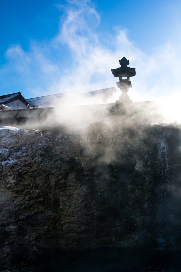 Kusatsu onsen royaltyfri foto