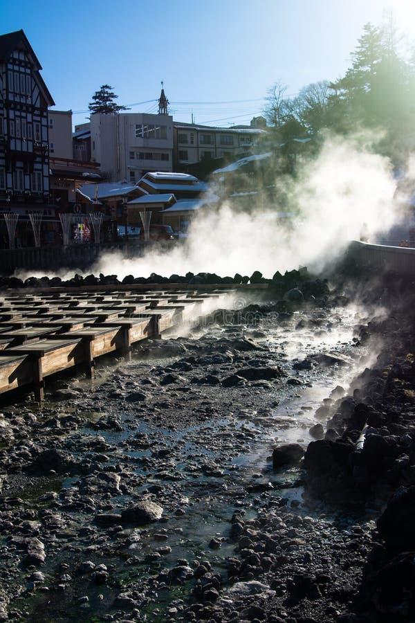 Kusatsu onsen photos libres de droits