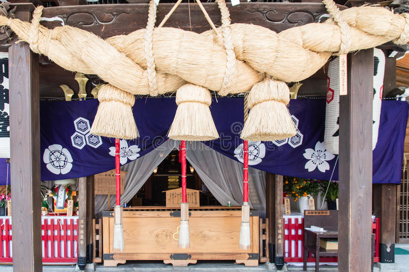 Kushida寺庙 免版税库存照片