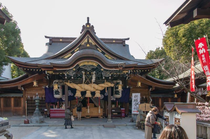 Kushida寺庙 免版税图库摄影