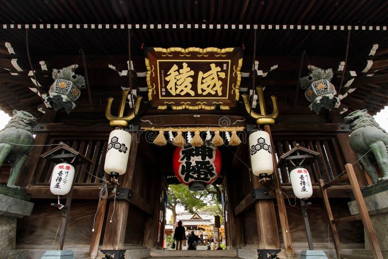 Kushida寺庙 图库摄影