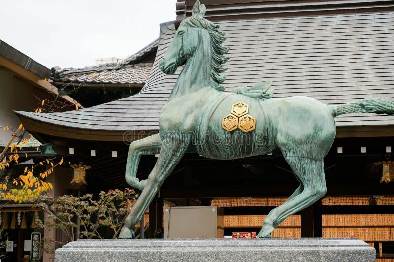 Kushida寺庙 库存图片