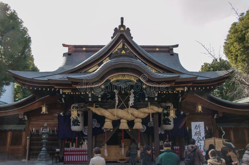 Kushida-Schrein lizenzfreies stockfoto
