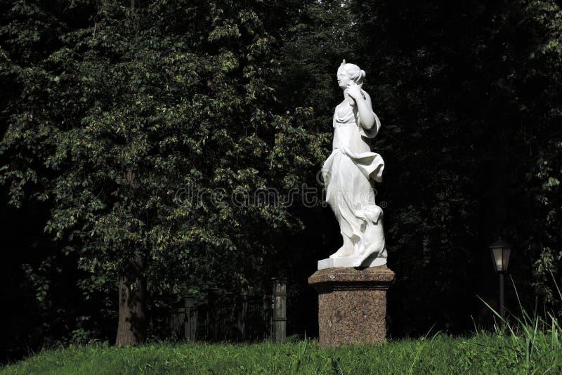 Kuskovo公园在莫斯科 免版税图库摄影