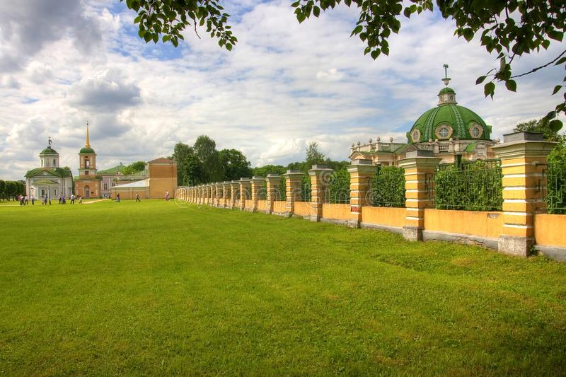 Download Kuskovo stock image. Image of historic, nature, moscow - 15206299