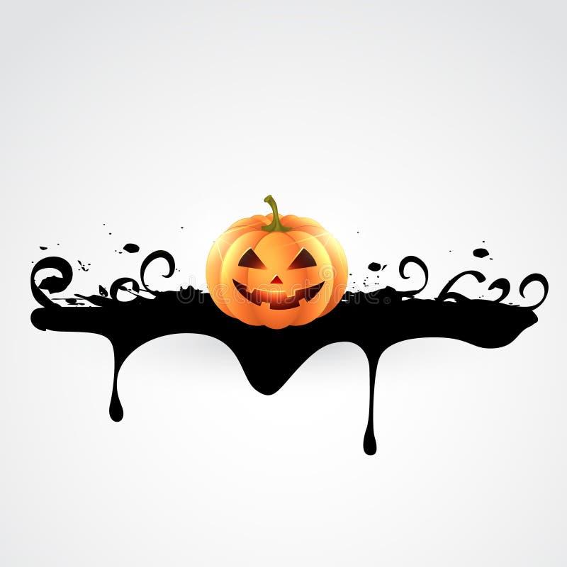 Kuslig halloween design vektor illustrationer