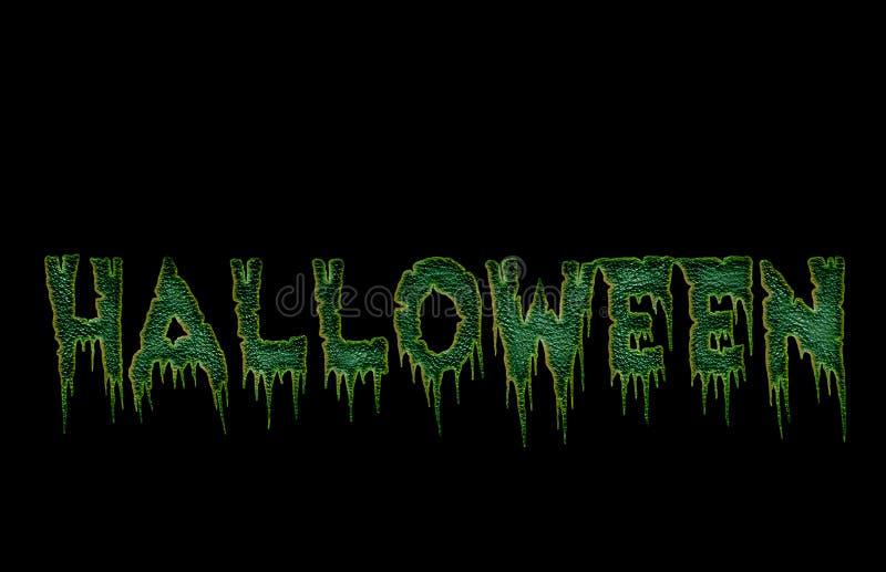 kusliga halloween vektor illustrationer