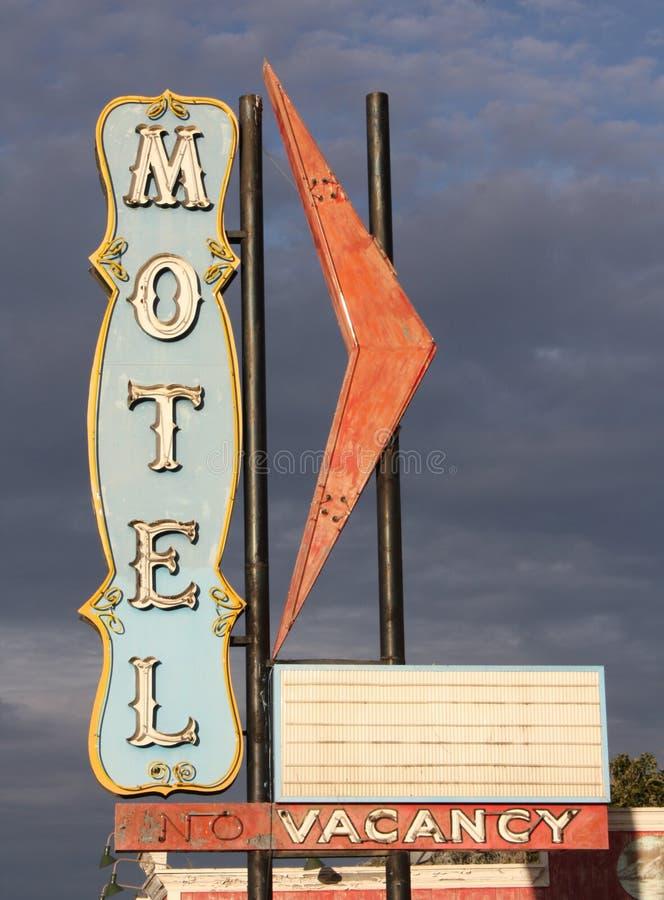 kusligt motell royaltyfria foton