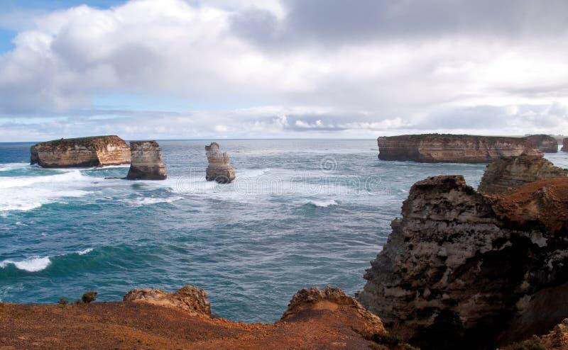 kust- öpark för fjärd royaltyfri foto