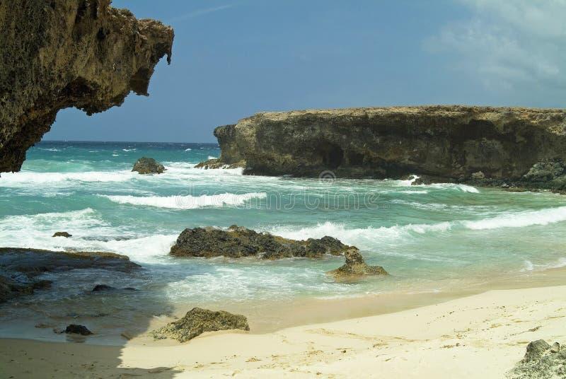 Kust 5 van Aruba royalty-vrije stock foto's