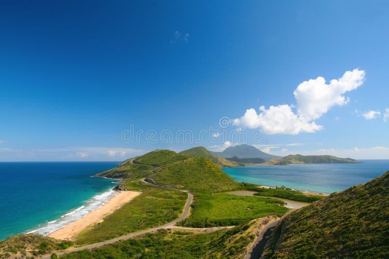 Kust aan kust stock fotografie