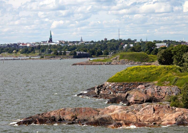 Kust av Östersjön royaltyfri foto