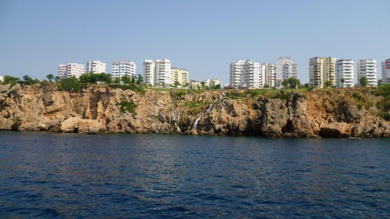 Kust av Antalya royaltyfri foto