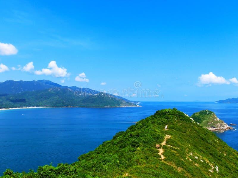 Kust av sydkinesiska havet royaltyfri bild