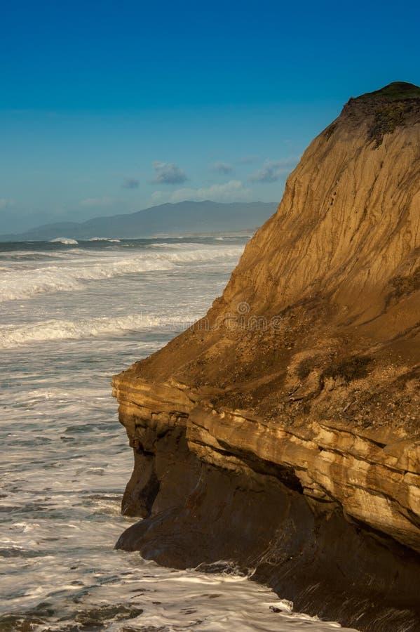 Kust- Cali i December fotografering för bildbyråer