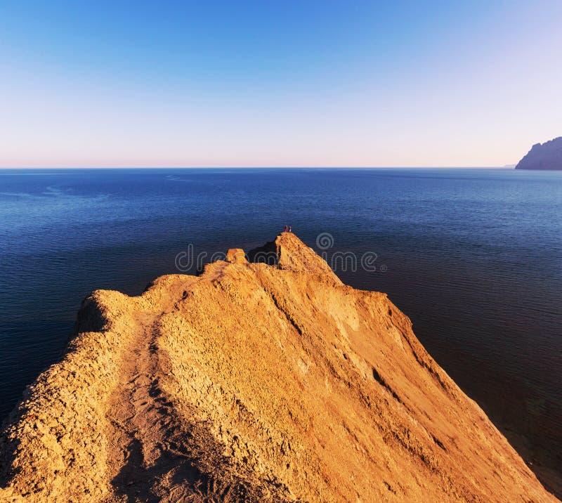 Kust in de Krim stock foto's