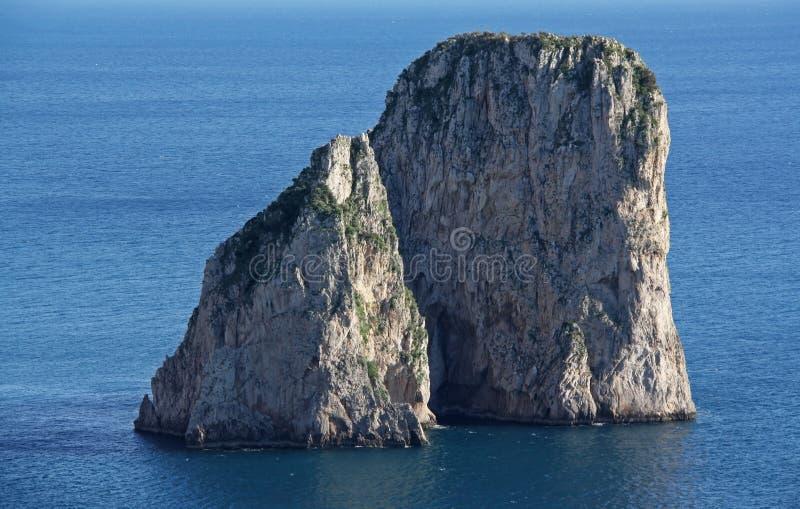 kust för ö för fartygcaprifiske fotografering för bildbyråer