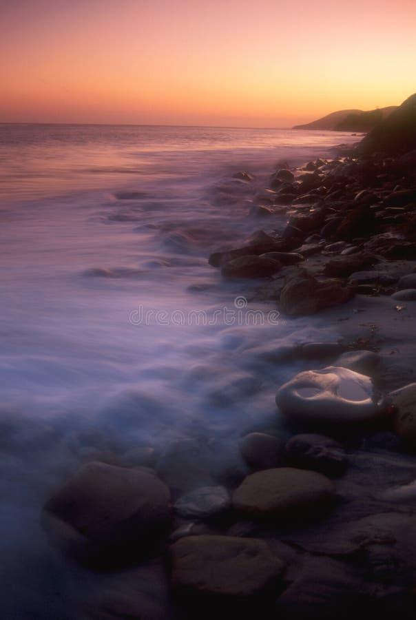 kust för 01 Kalifornien arkivbilder