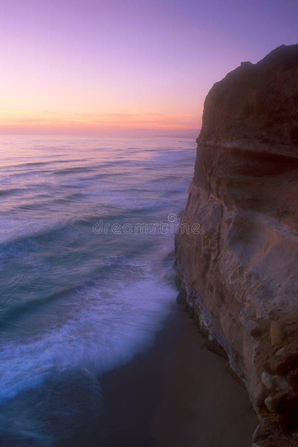 kust för 05 Kalifornien royaltyfria foton