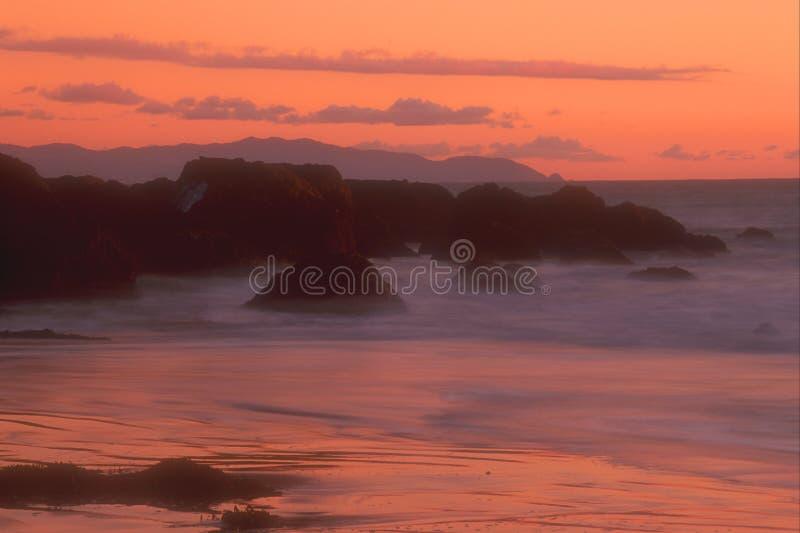 kust för 25 Kalifornien arkivfoton