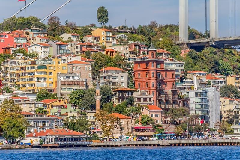 Kust- Istanbul royaltyfri fotografi