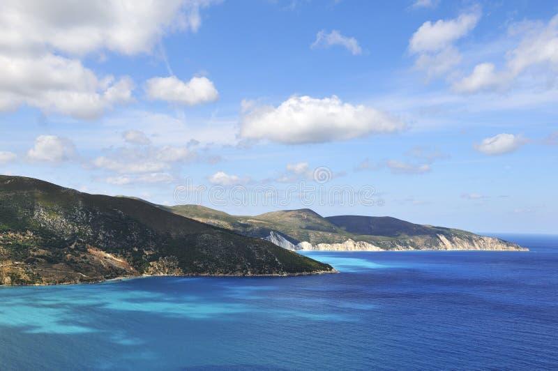 kust okuvade greece royaltyfri foto