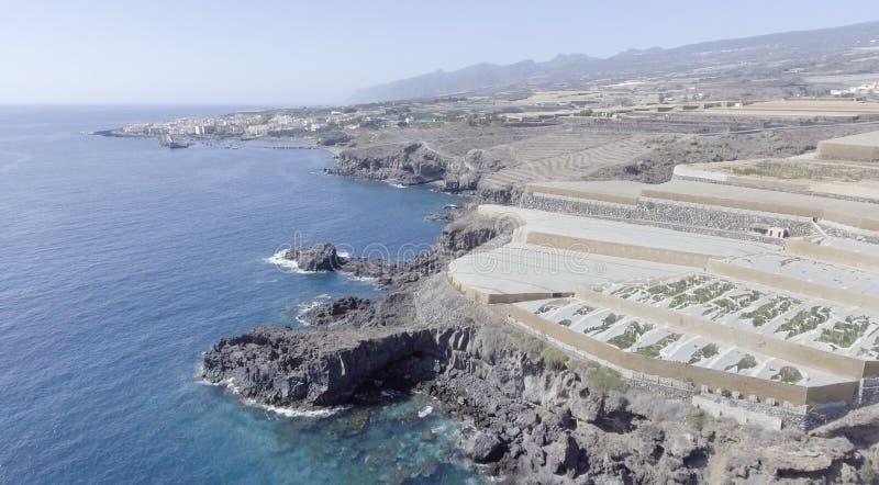 Kust- område av Tenerife, Spanien arkivfoto