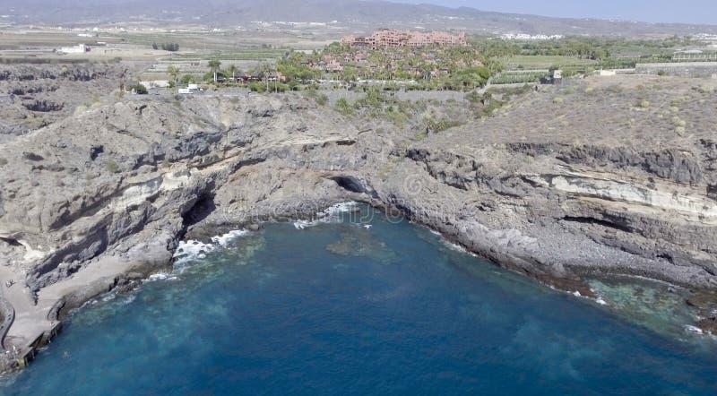 Kust- område av Tenerife, Spanien royaltyfri fotografi