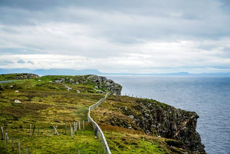Kust- områden av Irland arkivfoto