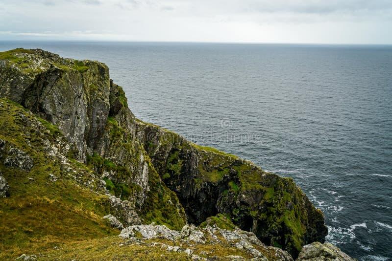 Kust- områden av Irland royaltyfria foton