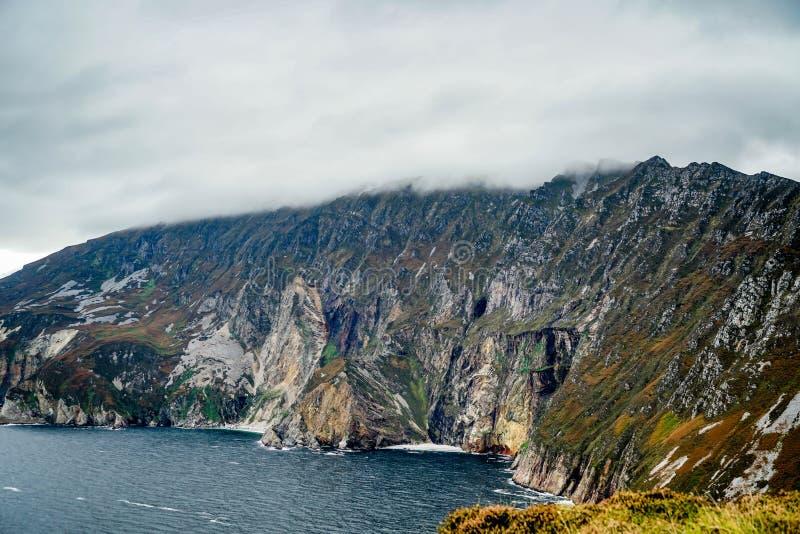 Kust- områden av Irland arkivbild
