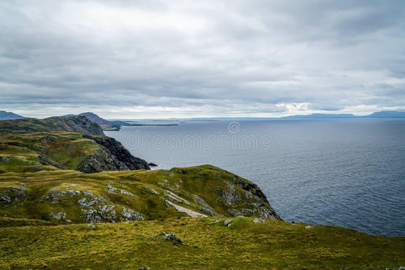 Kust- områden av Irland royaltyfri foto