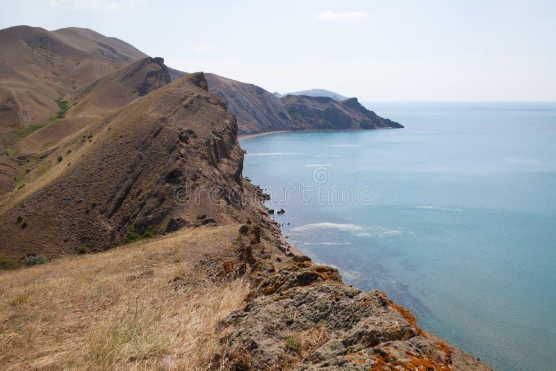 Kust på Crimea arkivfoton