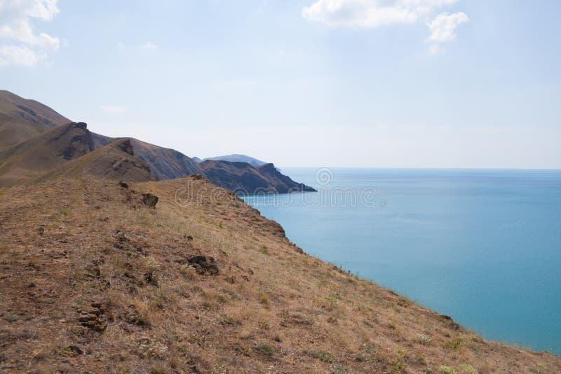 Kust på Crimea fotografering för bildbyråer