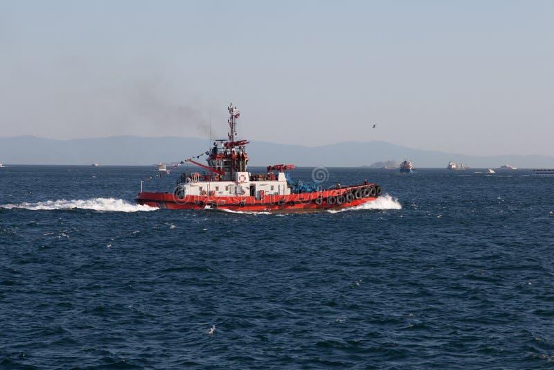 Kust- säkerhetsfartyg royaltyfri foto