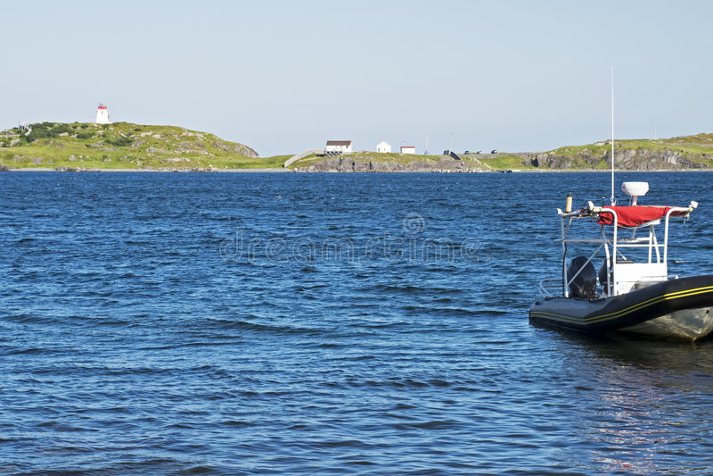 Kust- sceniskt i Newfoundland royaltyfria foton