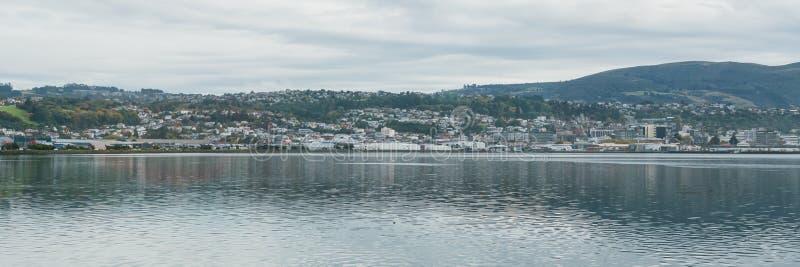 Kust- sikt, Stillahavskusten av Nya Zeeland arkivbild