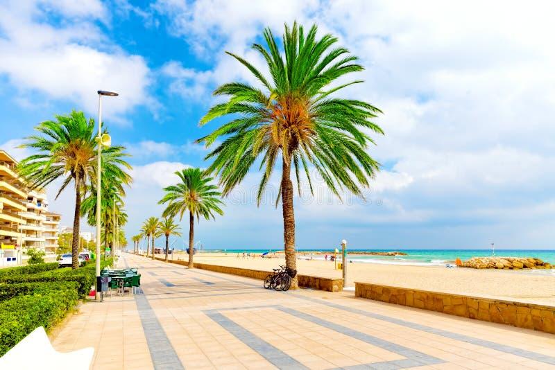 Kust in Spanje stock foto's