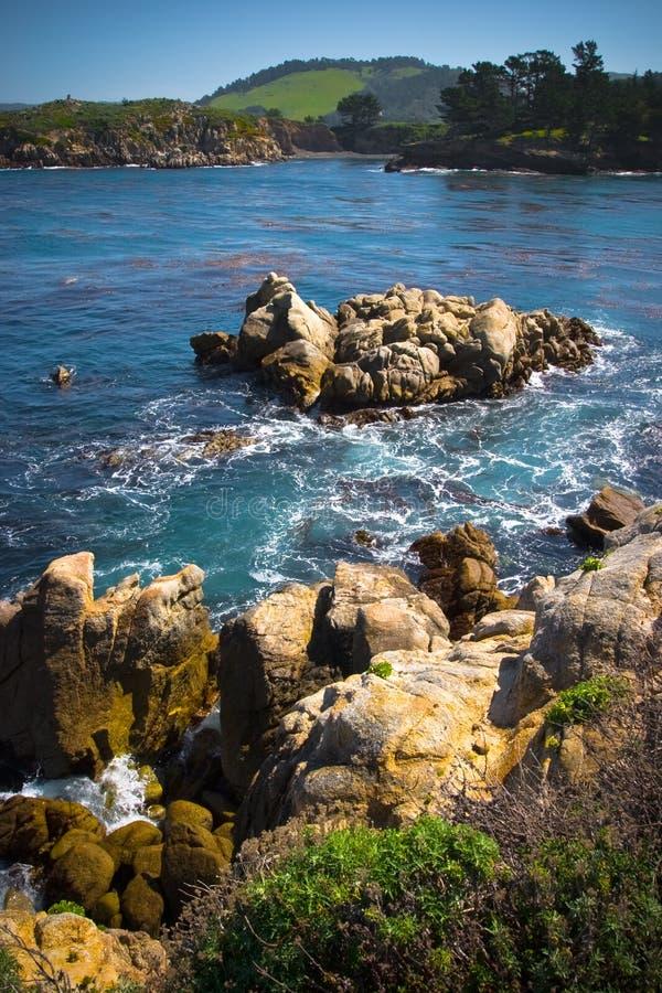 kust- stenigt för område royaltyfri bild