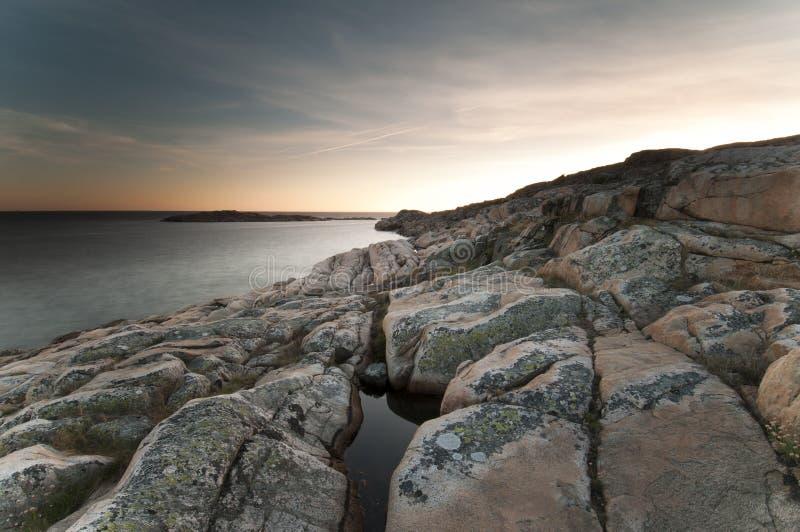 Download Kust västra sweden arkivfoto. Bild av landskap, klippa - 19797742