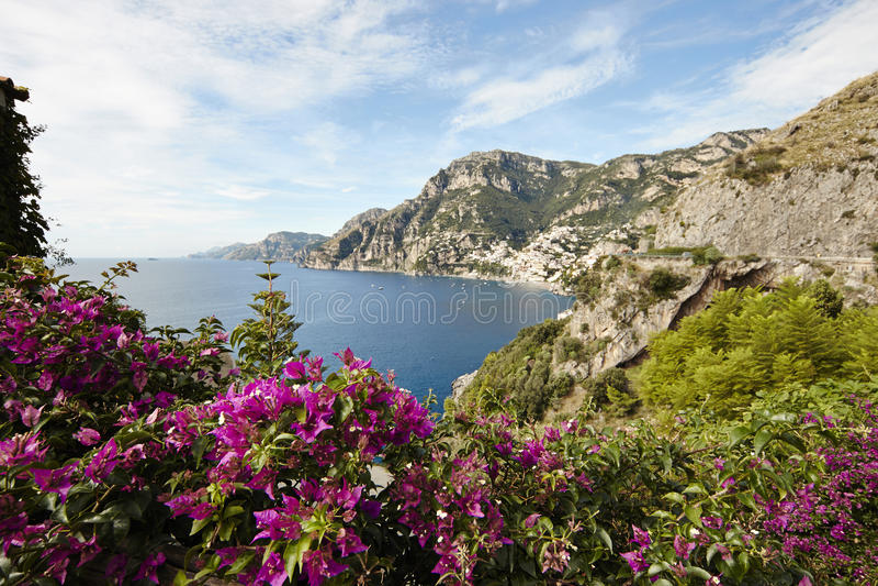 Kust van Amalfi stock fotografie