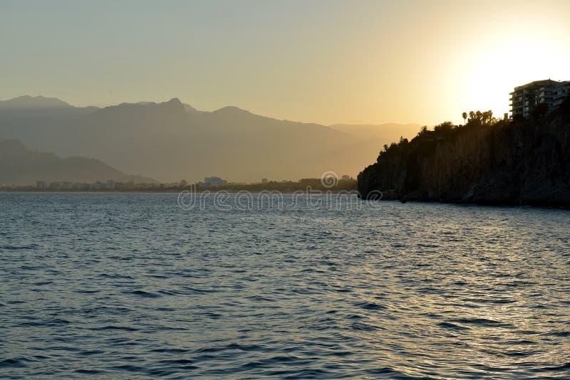 Kust van Antalya, Turkije royalty-vrije stock fotografie